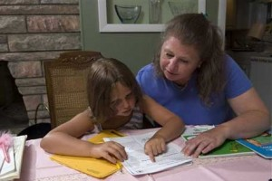 Are parents really helping their kids when  they're so involved with homework?